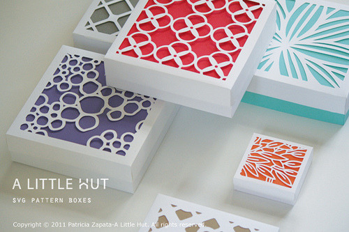(via A Little Hut - Patricia Zapata: day 17 - new svg files for gift boxes)