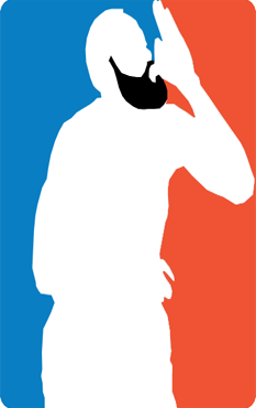 "nbamashups:  James Harden ""Fear the Beard"" Logo"