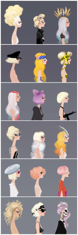 fuckyeahladygaga:  By Adrian Valencia  I've seen several illustrations like this, but I have to say this is my favorite so far :)