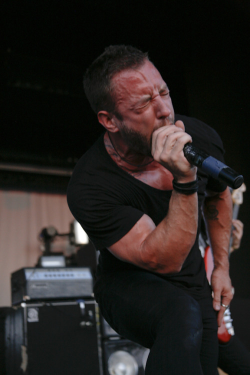 Greg Puciato of Dillinger Escape Plan