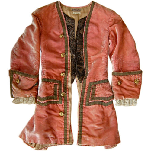 Antique French children's costume