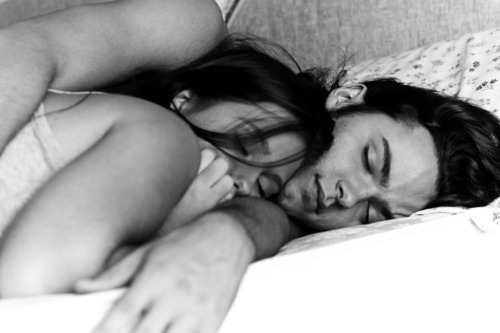 hazelminx:  This is the best feeling.. falling asleep in his arms, you feel so safe. You feel like nothing can touch you, and just for a split second you feel like everything is going to be okay. You could be in the middle of a war, but as soon as you lie down next to him, and he inhales you with his embrace you feel like you are the only two people in the world and you don't have a care in the world..