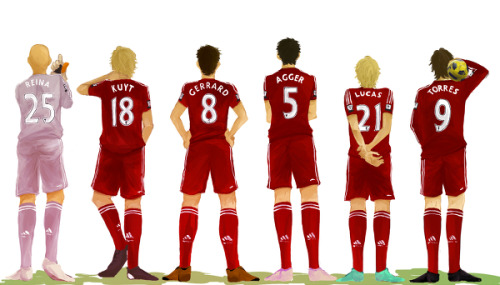 fabbityfab:  I love you Pixiv and your Liverpool fanart.