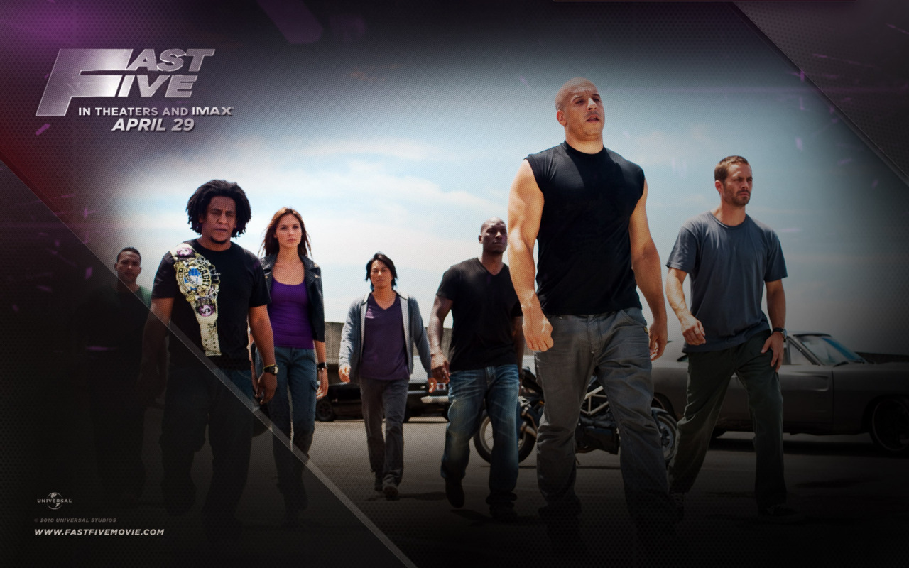 Review: Fast Five (released April 2011) Spoiler Warning. Nah and you`re good to go watch it still, this review is up super late.. Forgive my procrastination :P The impression. Here is the trailer: click. Check out 1:49 of the trailer btw! I have always wanted to try street racing. So here is a movie about super fast cars. Something I worried about, and I`m sure more than just me, was that I hadn`t watched the previous movies. You don`t need them really, everything still makes sense without them. The introduction. The fast (crazy) car driving, and stunts aren`t very far from the very beginning of the film. Surprise, surprise. You won`t catch yourself bored in this intro. Since it IS a fifth movie, they`re not really introducing very much. Don`t get me wrong, they don`t leave you questioning anything beyond a regular first movie would. The action. Fast cars, guns, explosions.. Yanno, it`s got a lot of it. And I enjoyed every single minute of their schemes and plans :) And I love how everything just falls into place. The best part is we find out how everything happens, as it happens and how impossible it would be, but somehow Dom and crew make it happen anyway. The ending. I was almost surprised.. But no. It was a good one, and it managed to get more laughs out of me. Oh, wait till the end of credits again for yet another clip that informs us that there will be yet another Fast and Furious movie. What a big surprise.. Heh :) The plot. So I will not comment a lot on this, besides to say it wasn`t predictable. Certain parts were, but for the most part, I was entertained during my whole sitting in the theater :) Don`t forget your super expensive popcorn. The cast. My two favorite actors in this movie are definitely Vin Diesel and Sung Kang. Sung Kang being the only Asian (I swear) that ever appears on the screen, who somehow blends right in :P And Vin Diesel, just because. The opinion. I was concerned that by not having seen the first four movies, I would have troubles keeping up with this one. But no, this movie isn`t filmed for just that specific audience. It`s made enjoyable for new comers too :) You need no previous knowledge from the previous movies that are vital to understand and enjoy this movie, and I did my share of laughing during the movie. Would watch this again if movies ever get cheaper! 4.5 Stars.