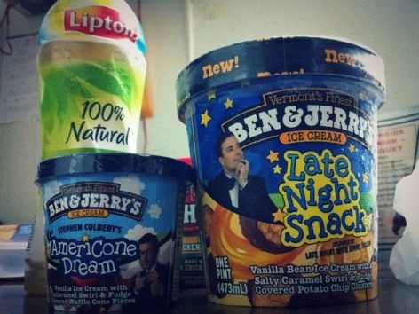 "Found Ben&Jerry's ""Late Night Snack"" and had to give it a try. love! But it can never beat my #1 fav ""Americone Dream"". :3"