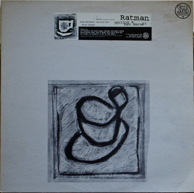 "Ratman - Hitting A Raw Nerve EP (12"") Label: Cup Of Tea Cat#: COT 028 Breakbeat/DnB/TripHop, UK, 1996 Discogs"