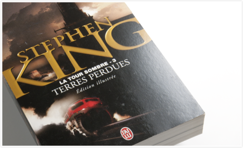 French latest edition of The Dark Tower III: The Waste Lands by Stephen King.