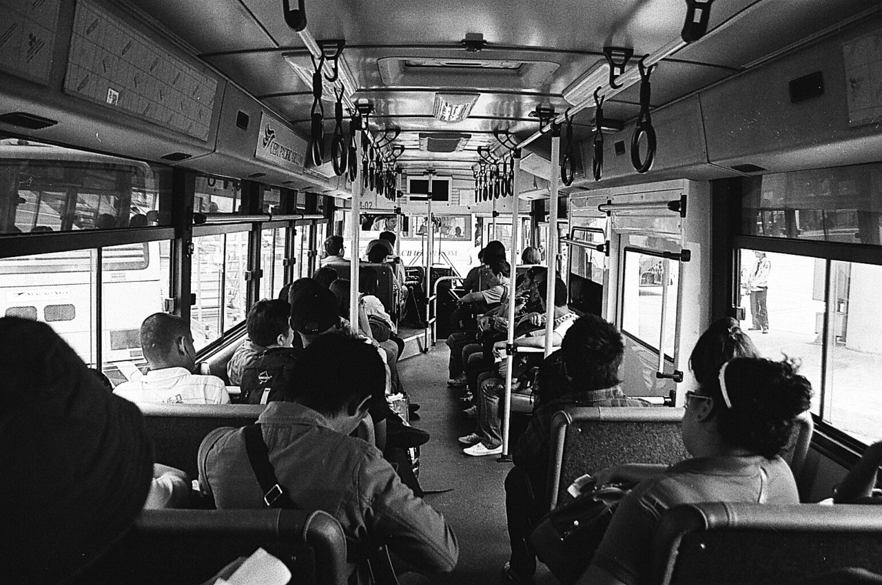Cebu Pacific - Bus Ride. Film: Fujifilm Neopan 400 Camera: Canon EOS 300 -bramasuncion