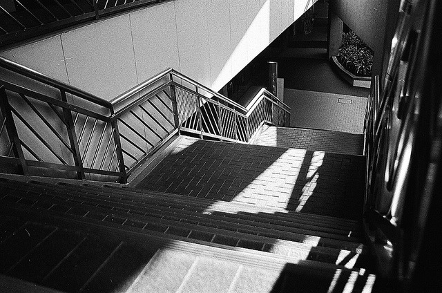 Stairs on Flickr. Film: Fujifilm Neopan 400 Camera: Canon EOS 300 -bramasuncion