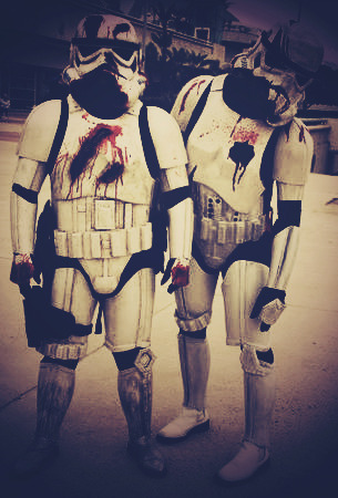these arent the zombies you're looking for.