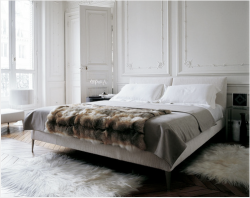 I love fur blankets on a bed, then again I really love fur anything NL habituallychic: