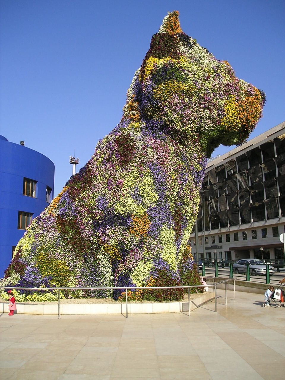 "Jeff Koons - ""Puppy"" - Flower Sculpture"