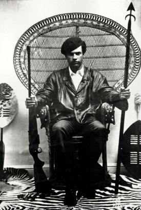 watch ! In Oakland Bobby Seale and Huey P. Newton founded the Black Panthers in  1966 with a ten-point platform for addressing racial and economic  inequality in America