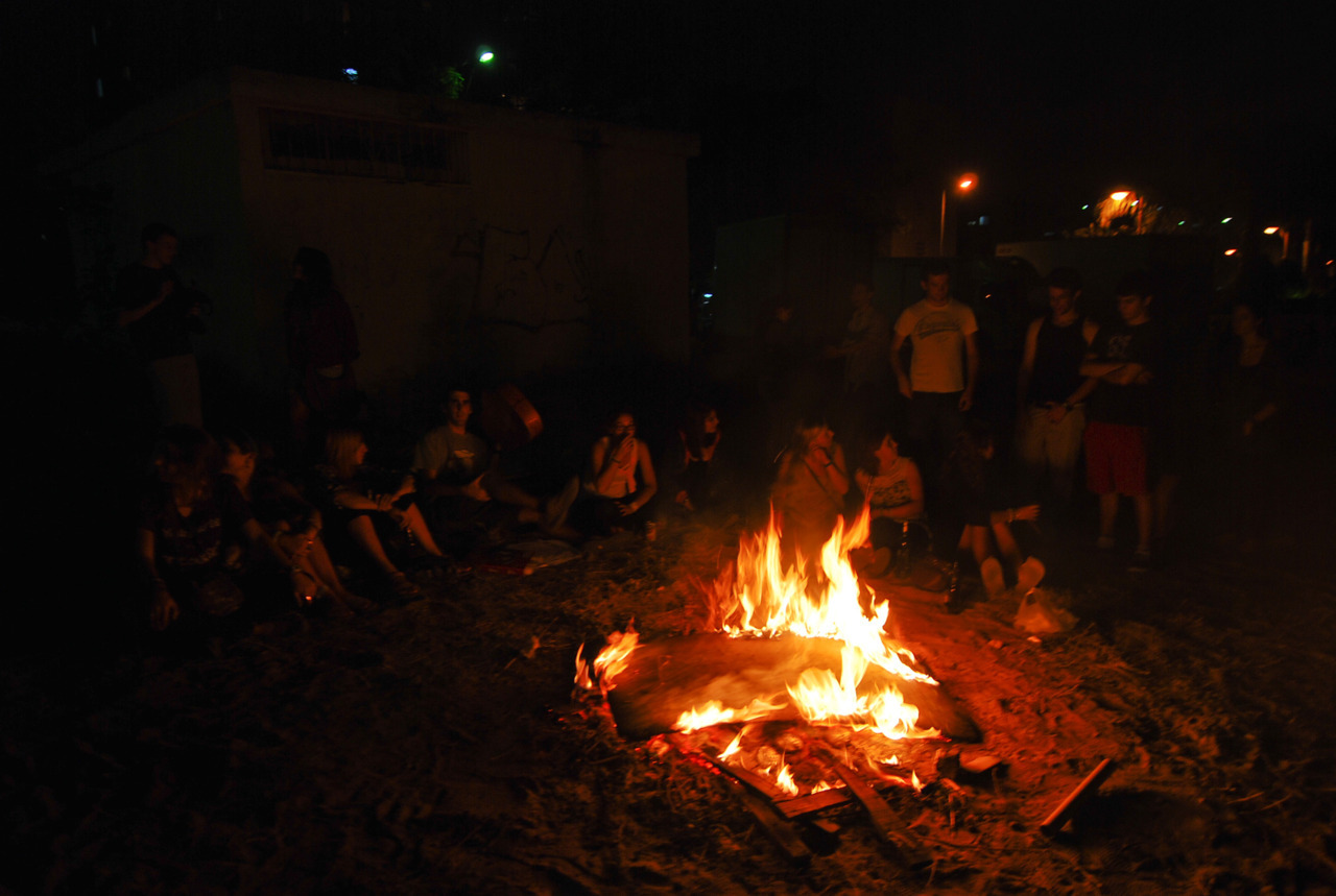 April 22. What up, Lag BaOmer bonfire?