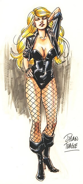 Black Canary Commission by Dylan Teague