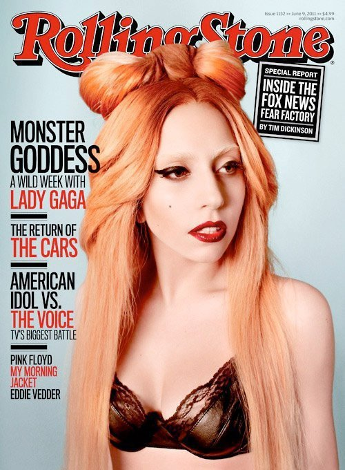 Lady Gaga For Roling Stone Magazine 2011..  Queen Gaga  MonsterGoddes A WILD WEEK WITH LADY GAGA