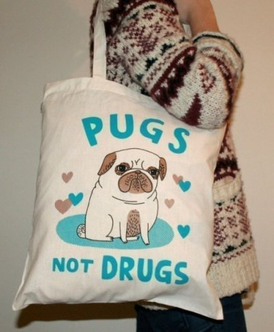 easilyfooled:  I spotted a lovely person with  this bag at Animal Collective ATP last week and rabidly fell in love. I want. I want. I want.  Yes, I do believe I need this.