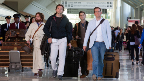 "Bradley Cooper, on The Hangover II: ""We knew we wanted to do a sequel when we were filming the first one. Warner Brothers was so excited with what they were seeing that they pitched to Todd Phillips, 'What about, can you envision a second story for these guys?' So we sort of laughed at the idea, especially given that one of the major story ideas is an Asian guy's nether regions on my neck. At that moment, I did not think that this would merit a sequel. But in fact, it did. So I was over the moon that they even entertained that notion so early."""