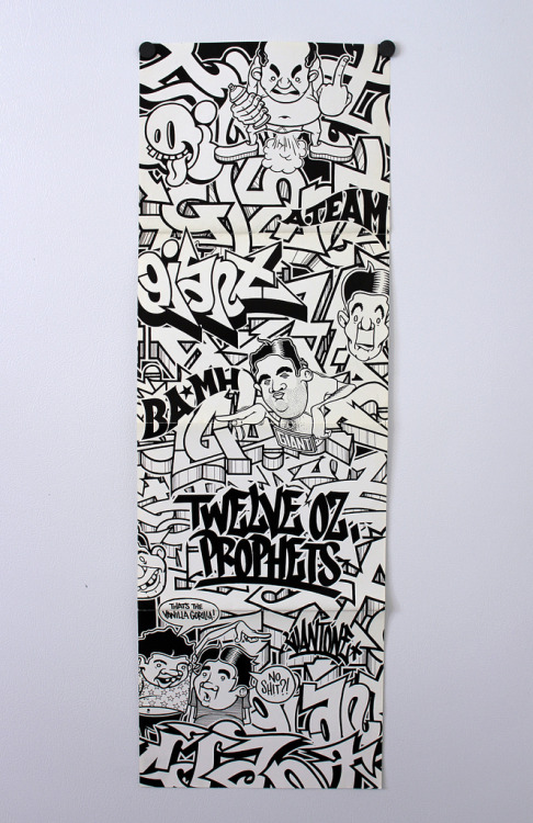 """12 oz. Prophets"" - Giant One  Eyes hath been fucked. I want this for my room!"