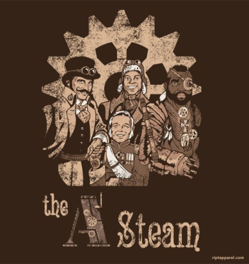 indexencia:  The A-Team goes Steampunk