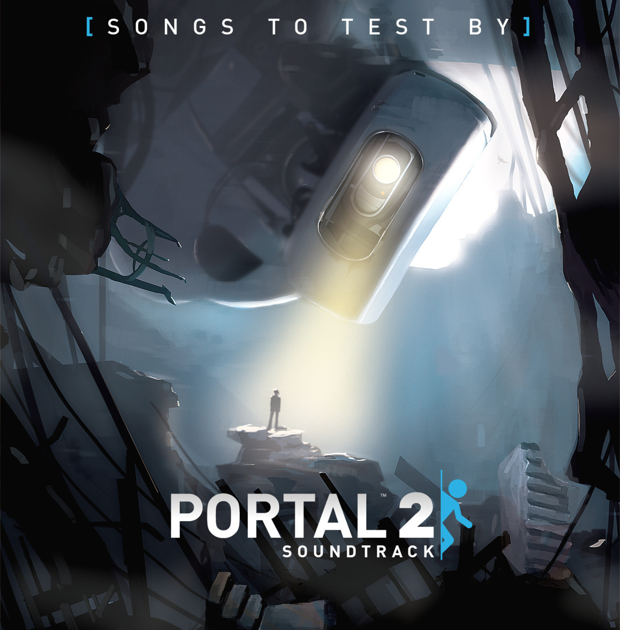 svalts:  Valve's Official Portal 2 Vol. 1 soundtrack has been released (along with  ringtones). What's the best part you ask? It's 100% free! Download it HERE. (Via: hendricksonart || justinrampage)