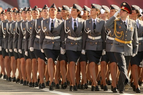 Look at this picture of saucy Russian police cadets I'm posting to my blog. It's amazing I haven't been added to the Tumblr Spotlight yet.