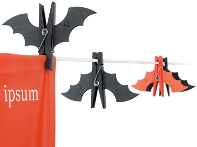 Bat Clothes Pins by Artemy Lebedev