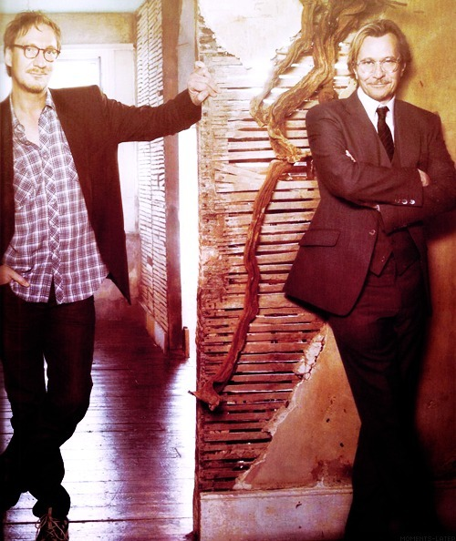 David Thewlis and Gary Oldman!
