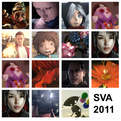 Click through & check out this incredible work by SVA 2011 outstanding achievement award winning students for computer animation, visual effects, & motion graphics. I'd bet money you'll be seeing some of these names in the agency world in years to come! Their work speaks for itself and is completely mindblowing and inspiring! What's your favorite?