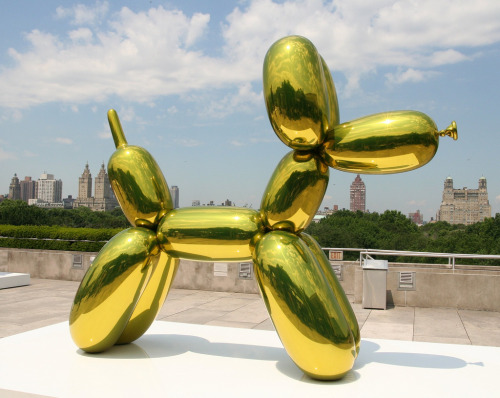 "Koons Balloon Dog. Jeff Koons, ""Balloon Dog"""