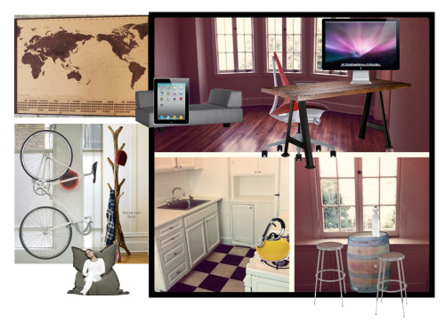 A mood board for furnishing my apartment.