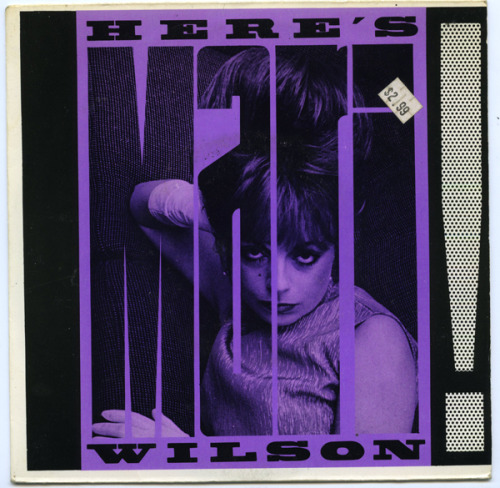 "Mari Wilson 45 for ""Beat The Beat"". B Side: Glamourpuss"