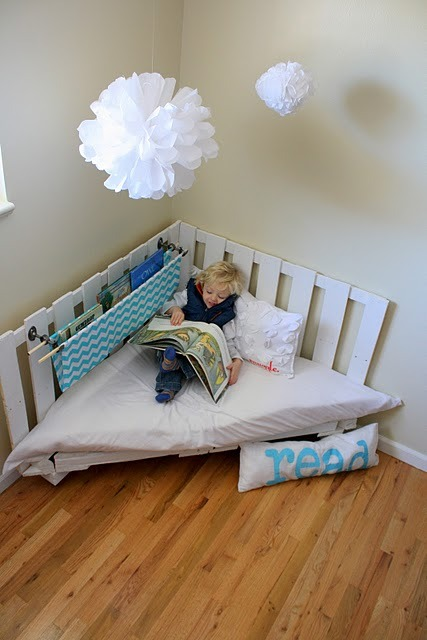Reading corner Tutorial here!