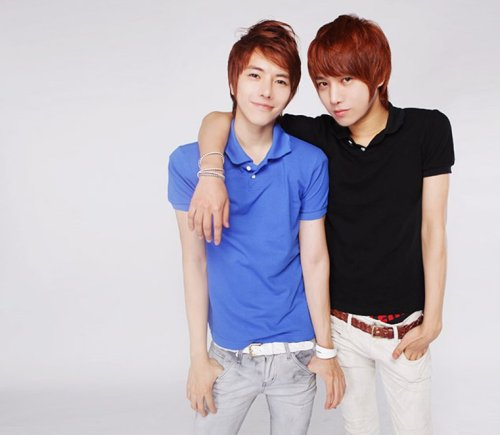 Park Tae Jun and Lee Chi Hoon.. You can see Chi Hoon's Boxers..
