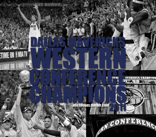 micsvegas:  *2011 NBA Western Conference Champions  So surreal…
