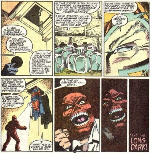 comicbadassery:  Magneto teaches Red Skull a lesson in humility.