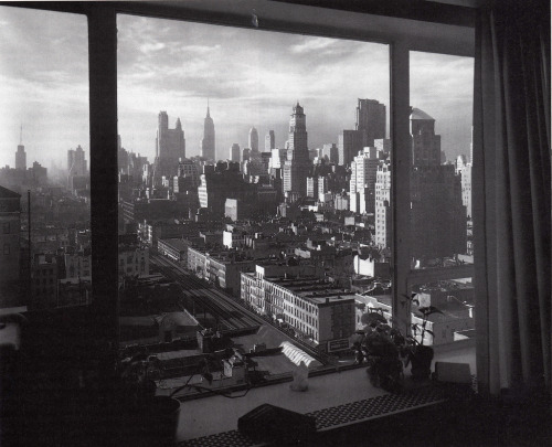 Midtown ManhattanNew York CityMay 1952 Photographer unknown