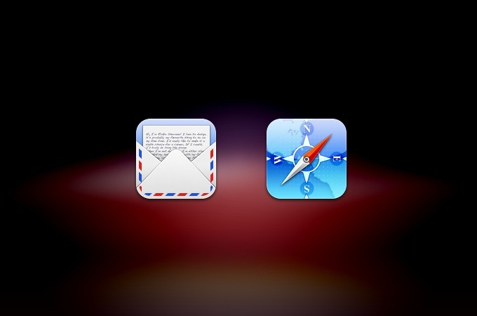 Mail & Safari Mobile icons