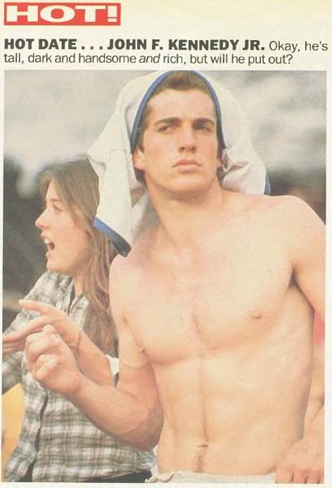 saderbrioli:  Hot damn, John F. Kennedy Jr.