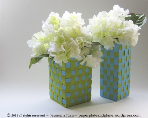 (via basket weave vases « paper, plate, and plane)