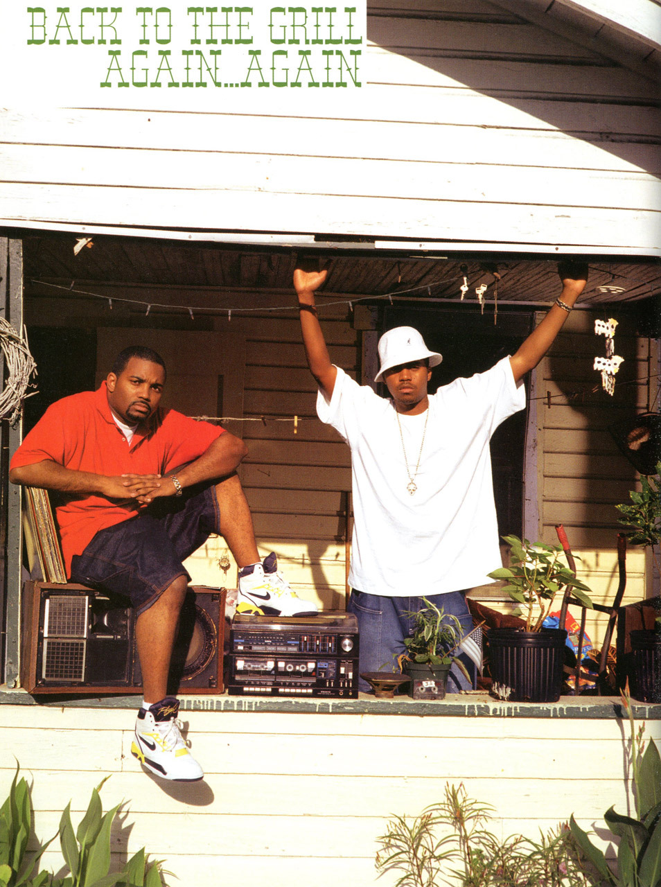 Nas & Extra P. Photo by Piotr Sikora for Mass Appeal (2002) Read the interview with Nas and Large Professor here, here & here