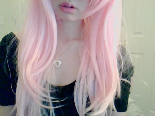 hmm.. wanted to color my hair like that a few months ago