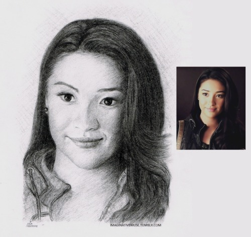 """SHAY MITCHELL"" another portrait for @shaymitch.. hehe i ♥ her :)"