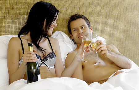"Raise your glass to a better sex life: Women who drink wine have more fun in the bedroom  Go ahead and say yes to that glass of wine - especially if you're on your way to the bedroom with your man ;) A new study found that women who drink one or two glasses of wine a day have better sex than those who don't drink at all. Researchers  from the University of Florence, Italy, surveyed 800 women between the  ages of 18 and 50 on their sexual satisfaction, using the Female Sexual  Function Index, according to the Daily Mail. The index is used by  doctors to assess women's sexual health, based on factors including  arousal, orgasm, satisfaction and pain. Women  who drank two glasses of wine a day scored an average of 27.3 points  out of a possible 36 on the satisfaction scale, while those who stopped  at one glass scored a 25.9 average. Non-drinkers averaged a 24.4. ""Historically,  the aspects of wine and sexuality have been well known since the time  of Ancient Greece,"" the study's lead author, Dr. Nicola Mondaini, told  the Daily Mail. Female sexual dysfunction, on the other hand, is still  ""highly unexplored,"" she said."