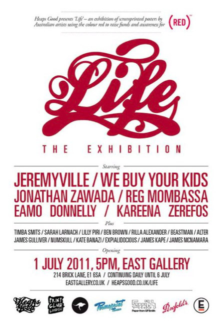 "@Jeremyville is headlining ""Life"", an exhibition by @joinred in London this July. Find out more here!"