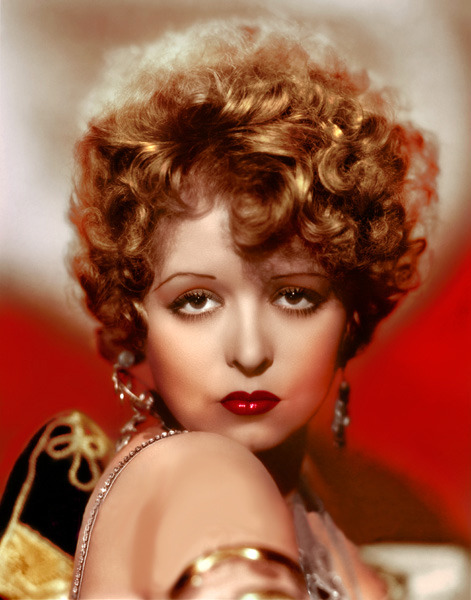 Clara Bow 1920's *color by dreampinups*