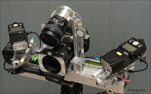 (via nikonrumors.com) Look at this crazy rig!!!!! It's used to capture insects in flight!  click the pic and read the full article!