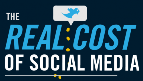 """The Real Cost of Social Media"" Great post from Digtalbuzzblog.com! Excerpt from the post: ""What's the real cost of social media? Last week we looked at an interesting infographic on the value of social commerce and today we wanted to share another interesting infographic on the cost of social media. So how do your social media costs compare?  These stats, which have been aggregated by Focus.com, show some good insights into how much brands are paying, on average, for their social media strategy and activities. The second half of this infographic shows some good stats on the benefits of social media, including a comparison of what an average Facebook fan will spend on certain brands compared to a non-fan. On average it shows that a Facebook fan is 28% more likely than a non-fan to continue using a brand and that fans are 41% more likely to recommend a fanned product to their friends. What's a Facebook fan worth to your brand?""  Click on the pic to read the whole piece! Enjoy!"