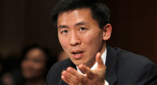 mohandasgandhi:  shortformblog:  Judicial nominee Goodwin Liu asks Obama to be withdrawn Goodwin Liu says goodbye: One of the many contentious battles between the Republican Party and the Obama administration may come to a close, as judicial nominee Goodwin Liu has asked the President to withdraw his name from consideration. Obama nominated Liu on February 24th, 2010, and he's languished in the Senate approvals process ever since. His nomination was a hit with the President's liberal base, as Liu is rather liberal himself (and a UC Berkeley professor, to boot), but that made the political strategy for the GOP all too obvious. With the strength of the Senate filibuster still in hand, they decided to wait it out, hoping that Senate gridlock would scuttle his nomination. It seems that they were right. source Follow ShortFormBlog  Disappointing.  super disappointing.