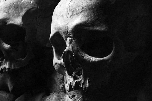 The Catacombs, Paris, France (by Mouth Full of Stars)